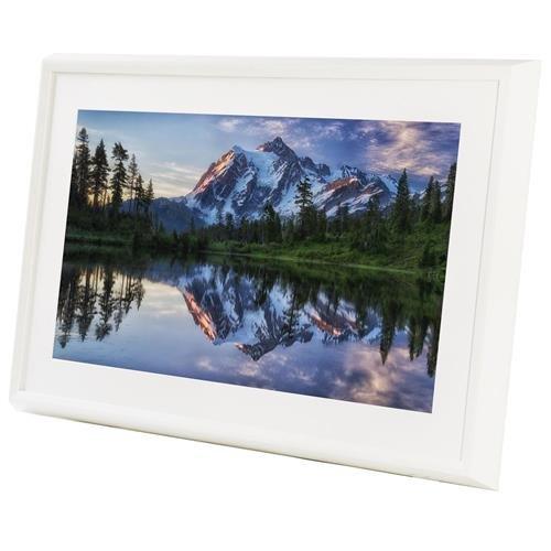 Meural Canvas - Smart Digital Frame | Leonora White | 27 inch HD Display with WiFi Powered by NETGEAR (MC227WL) (Home 300 Decor)