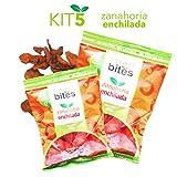 Smart Bites Chips de Zanahoria Enchilada,  Empaque de 5 bolsas de 30 g