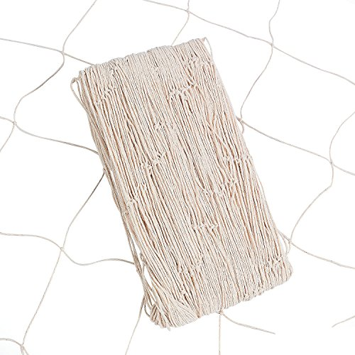 Natural Fish Net Party Accessory (1, 1 LB) (Little Mermaid Decorations)