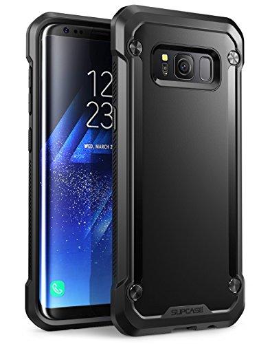 Carcasa para Samsung Galaxy S8 (2017), Funda cubierta protectora Supcase Unicorn Beetle serie Premium Hybrid (Negro/negro)