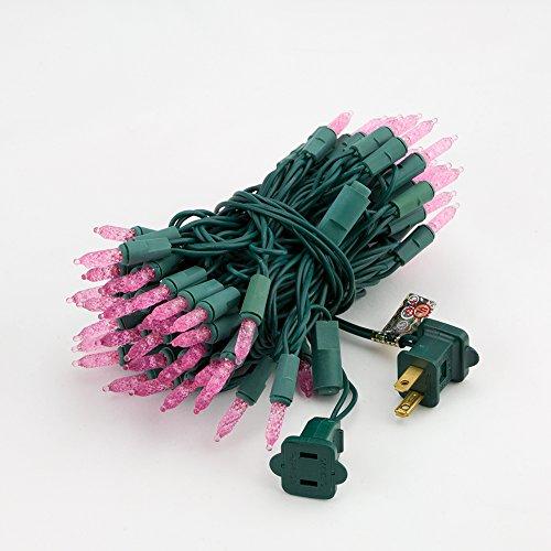 Fantado 70 Outdoor Pink LED M6 Mini String Lights, 23.6 F...