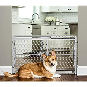 Carlson Easy Fit Plastic Adjustable Extra Wide Pet Gate 42