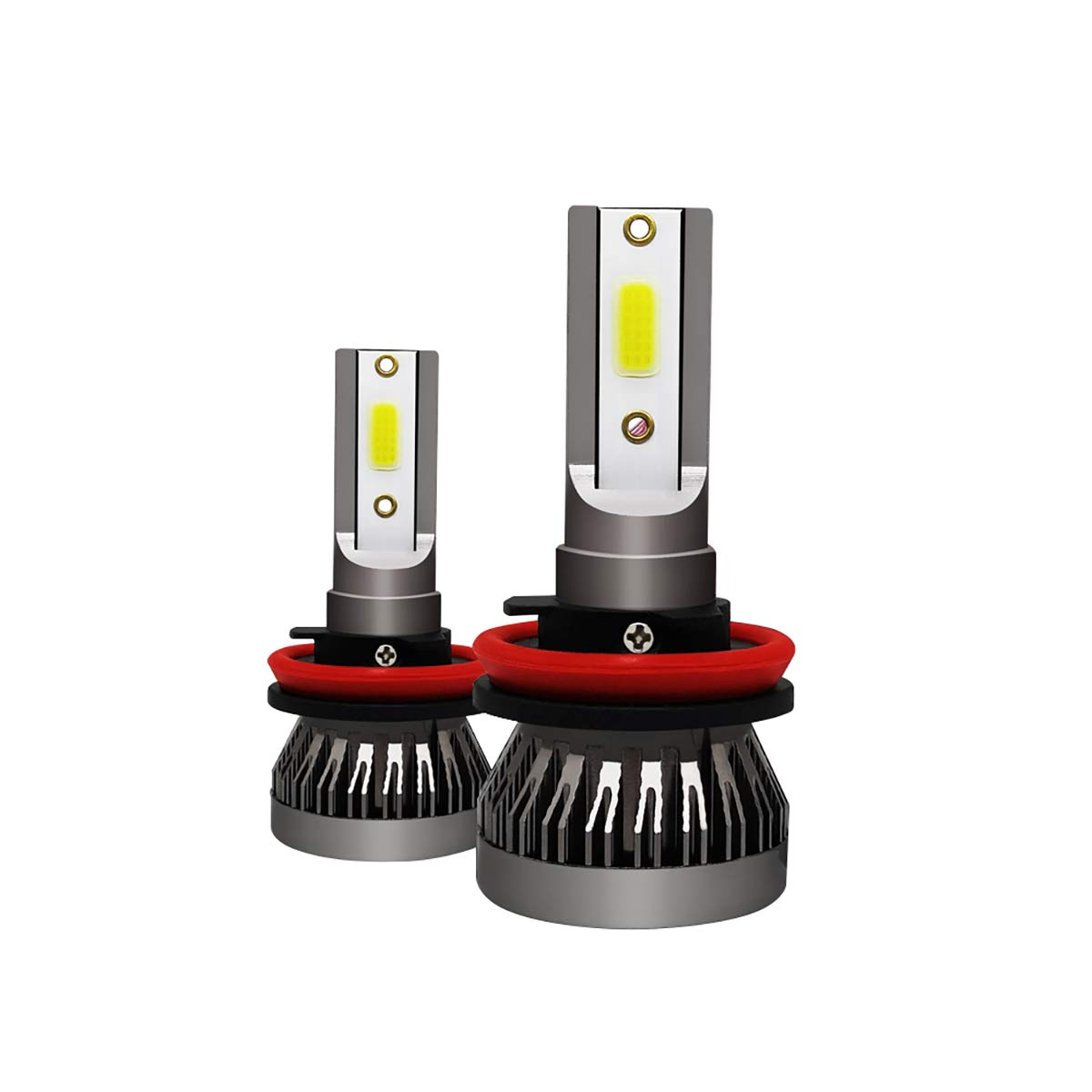 New MINI1 bombilla car led headlights C6 S2 M/últiples estilos headlights lampara led (2PIECE)
