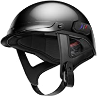 Sena Cavalry Half Bluetooth Helmets - Gloss Black Large