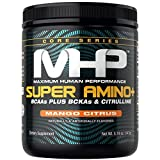 MHP Super Amino + Powder, BCAAs Plus BCKAs & Citruline, Mango Citrus, 30 Servings For Sale