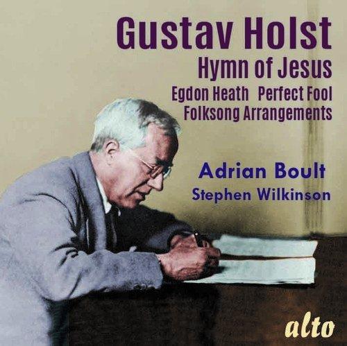 CD : Adrian Boult - Bbc Symphony Orchestra - Holst: Hymn of Jesus Egdon Heath Perfect Fool (Ballet) Welsh & English (CD)