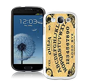 Element Amazing Samsung Galaxy S3 Case I9300 Ouija Board Vintage Retro Design White Phone Protective Case Cover