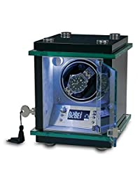 Rapport London Commander Single Watch Winder w/ Glass Display
