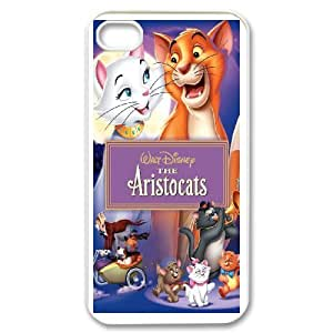 The Aristocats For iPhone 4,4S Phone Case & Custom Phone Case Cover R91A650539
