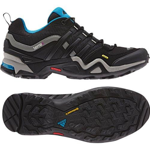 Adidas Donna Terrex Fast X Scarpe Da Trekking Carbon / Black / Dark Solar Blue