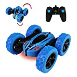Jellydog Toy Stunt Rc Car, Remote Control Car, 360 Degree Flips Double Sided Rotating Race Car, High Speed Flashing...