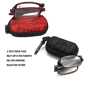 soolala compact mini tr90 pocket folding reading glasses