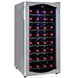 Firebird New Thermoelectric Quiet Operation Wine Cooler Cellar Chiller Refrigerator (32 Bottles)