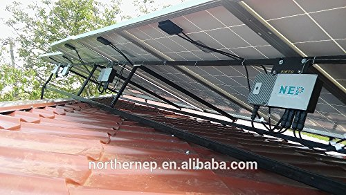 Plugged Solar 5KW Grid-tie Kit  Ground Mounting for Solar
