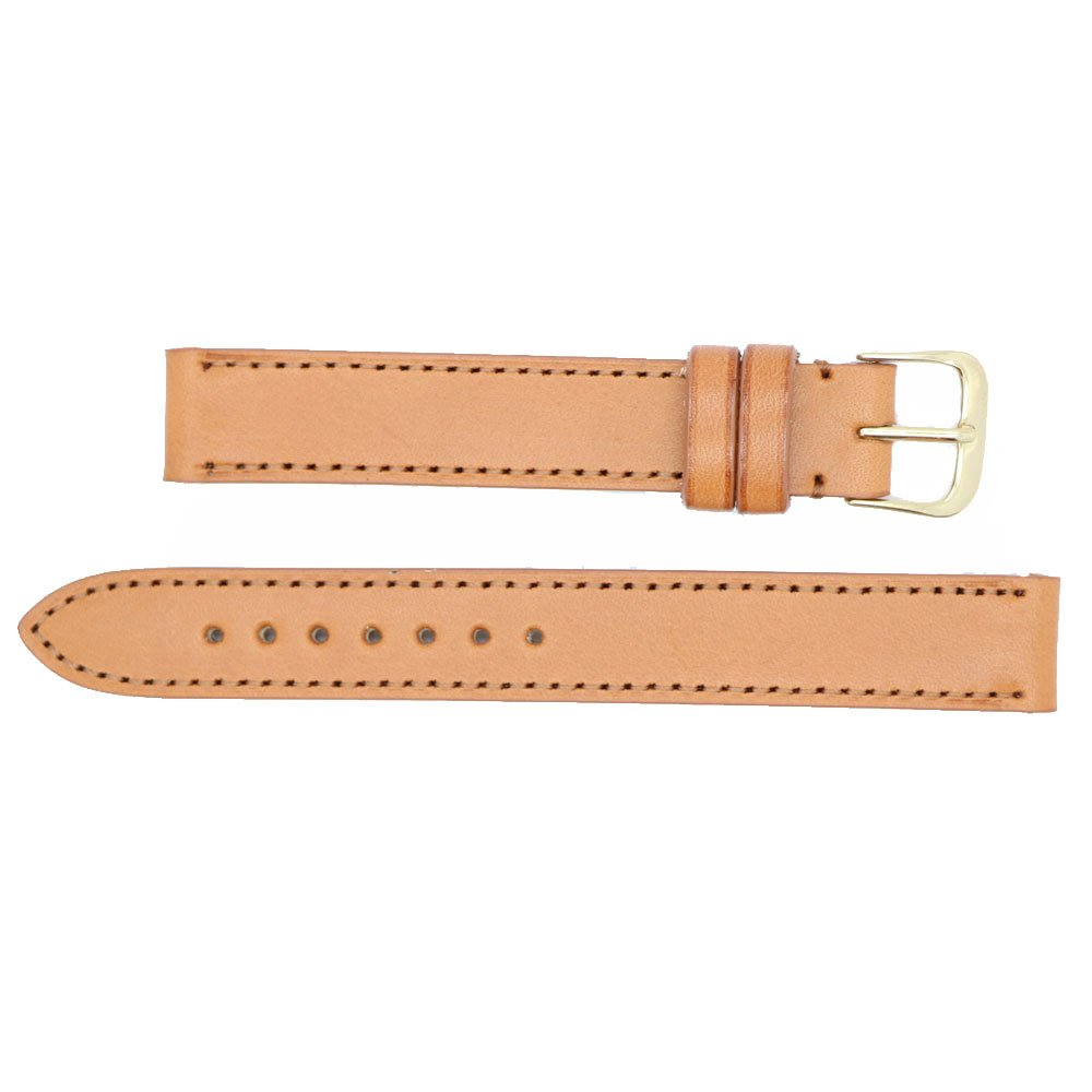 16 mm marrón Inglés brida piel sustitución correa de reloj banda fabricado en Estados Unidos WS244: Amazon.es: Relojes