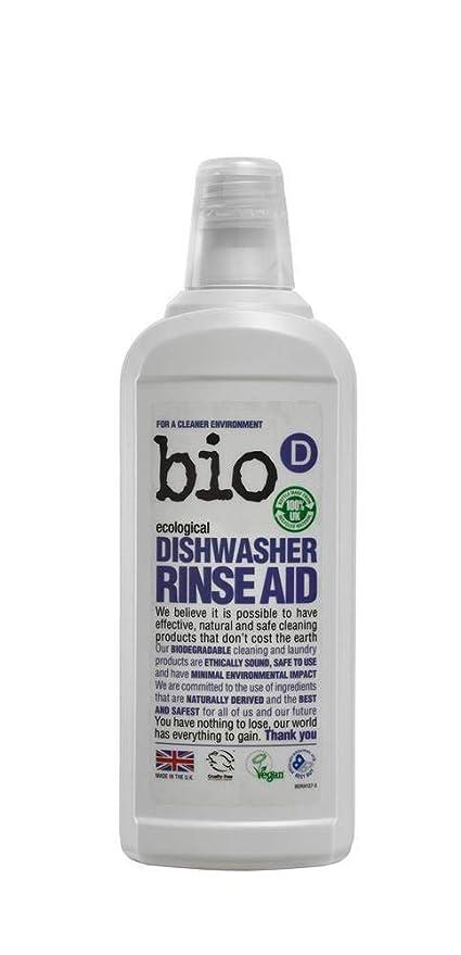 Bio-D - Abrillantador para lavavajillas, 750 ml: Amazon.es: Hogar