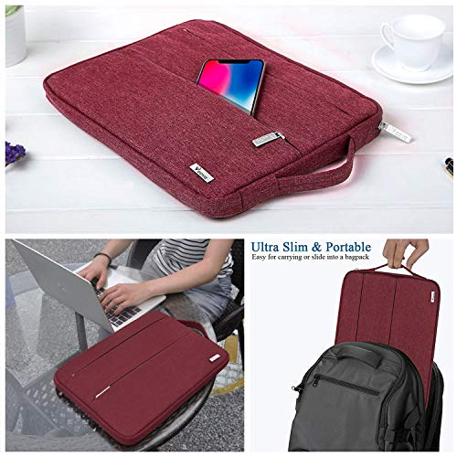V Voova 13 13.3 Inch Laptop Sleeve Case Waterproof Protective Notebook Carry Bag with Portable Handl - http://coolthings.us