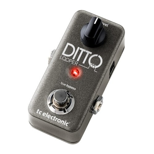 TC Electronic Ditto Looper Guitar Effect Looper Pedal with Instrument Cables Bundle