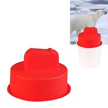 Bandejas de cubitos de hielo Favourall, contenedores de almacenamiento de bolas de hielo duraderos,