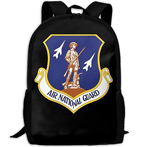 - YIXKC Adult Backpack US Air National Guard 2007 Emblem Custom Casual Gift School Bag Travel Daypack