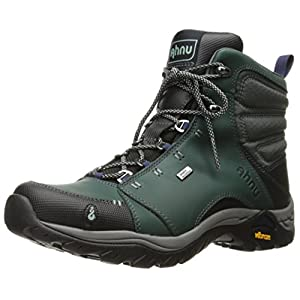Ahnu Women's Montara Waterproof Boot,Muir Green,10 M US