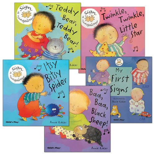 Kaplan Baby Signing Board Books - Set