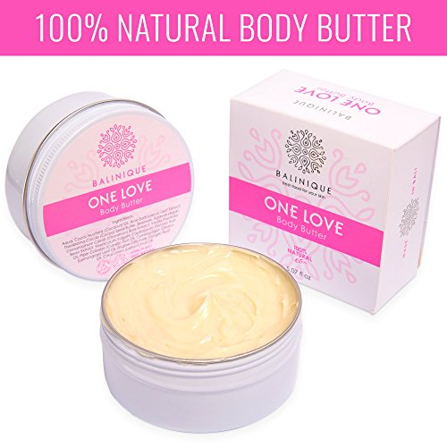 ONE LOVE Natural Body Butter – 100% Pure & Organic Body Bu