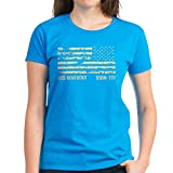 CafePress - USS Kentucky Women's Dark T-Shirt - Womens Cotton T-Shirt Caribbean Blue