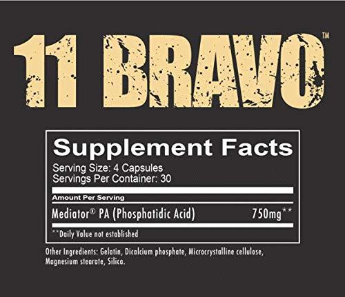 Redcon1-11 Bravo (30 Servings),Phosphatidic Acid,Protein Synthesis, Muscle Builder, mTOR Inhibitor,