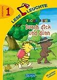 Leseleuchte - Tiger & Bär: Durch dick und dünn