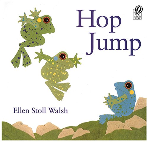 Hop Jump (Rise and Shine): Walsh, Ellen Stoll: 8601422650501: Amazon.com:  Books
