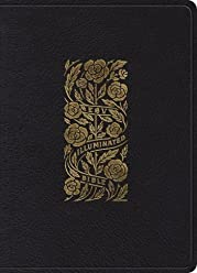 ESV Illuminated Bible, Art Journaling Edition (Top Grain Leather, Black)