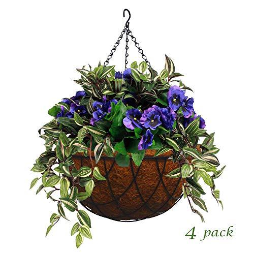 Begonia Hanging Basket - MTB Garden Hanging Baskets for Plants 14
