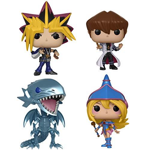 (Funko 262 Animation: Yu-Gi-Oh! Series 1 Collectors Yami Yugi, o Kaiba, Blue Eyes White Drago, Dark Magician Girl,)