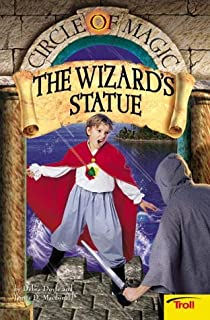 School of wizardry circle of magic book 1 debra doyle james d the wizards statue circle of magic book fandeluxe Image collections