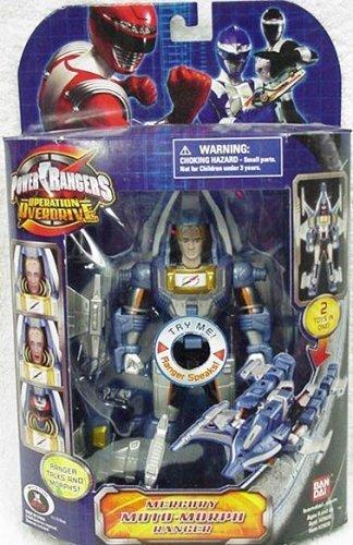 Power Rangers Operation Overdrive Mercury Moto-Morph F/X Power Ranger Action ()