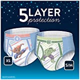 Goodnites Bedwetting Underwear for Boys, X-Small