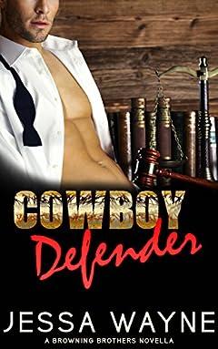 Cowboy Defender (Browning Brothers Novella Book 3)
