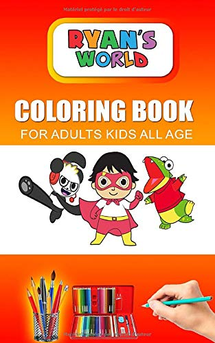 Ryan S World Coloring Book For Adults And Kids All Age Color Rayan Book Toys Pages Unofficial Book Buy Online In Aruba At Aruba Desertcart Com Productid 181861654