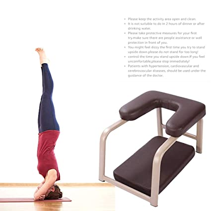 YYHOUS Headstand Bench Yoga, Stand Yoga Chair Taburete ...