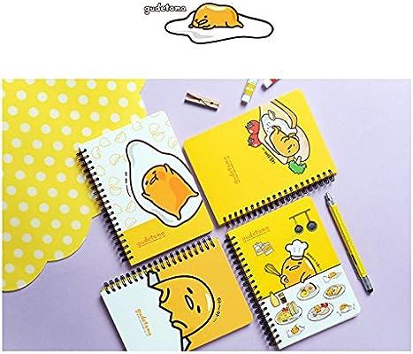 Sanrio Gudetama Spiral Notebook Hard Cover Elastic