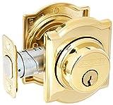 Schlage Lock Company B60CAM505 Series Deadbolt Camelot Rose Single Cylinder Deadbolt