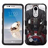 america phone case - LG Aristo Case,LG Aristo 2 Case,LG Rebel 3 LTE Case,LG Aristo 2 Plus/LG Tribute Dynasty/Zone 4/Fortune 2/Phoenix 3/Rebel 2 LTE/K8+ Plus Case, Rugged Case - Captain America #S