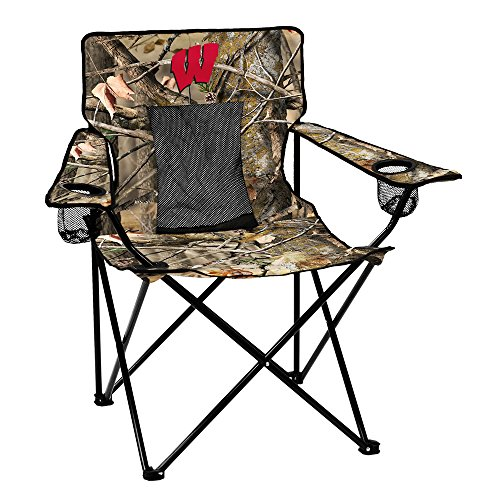 NCAA Wisconsin Badgers Elite Chair, One Size, Black
