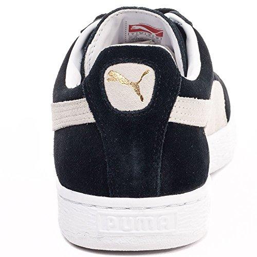 Puma - Zapatillas de ante para hombre Multicolor - negro/blanco