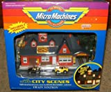 Micro Machines Electronic Train Station Playset