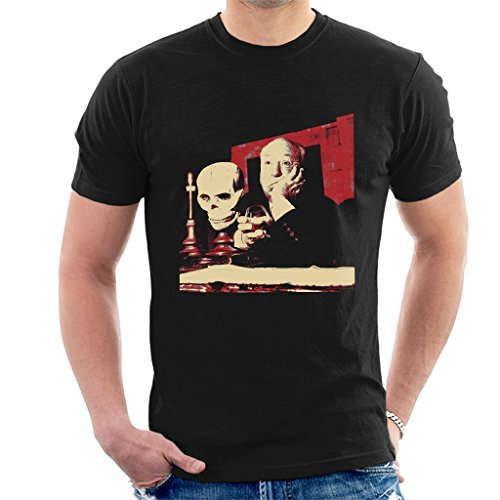 Newspaper 1964 (Alfred Hitchcock Studio Props 1964 Poster Style Men's T-Shirt)