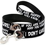 Grumpy Cat Dog Leash - 6-FEET IF You are Happy and You Know IT-I Don't Pet Leash 6' X 1.0
