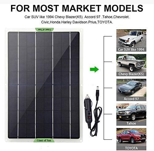 Weitong Solar Ladegerät 20W solarpanel Outdoor Ladegerät für Portable Generator, Car Battery, Laptop, Auto Batterie, RV, Camping, Outdoor