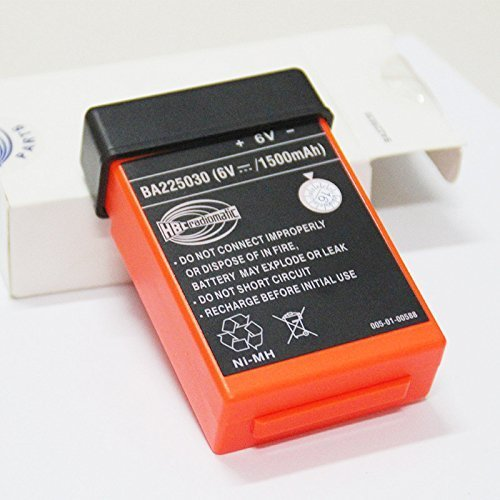 BA225030 Rechargeable battery 225030 6V remote control battery NI-MH Nickel metal hydride Pump truck (1500mah)